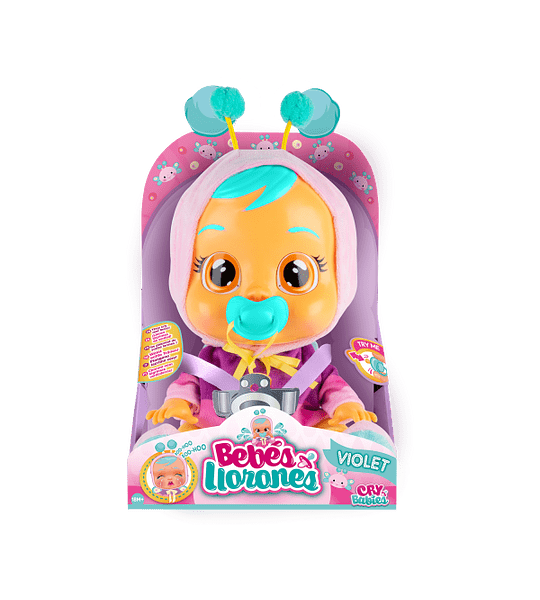 Violet Exclusivo Bebé Llorón