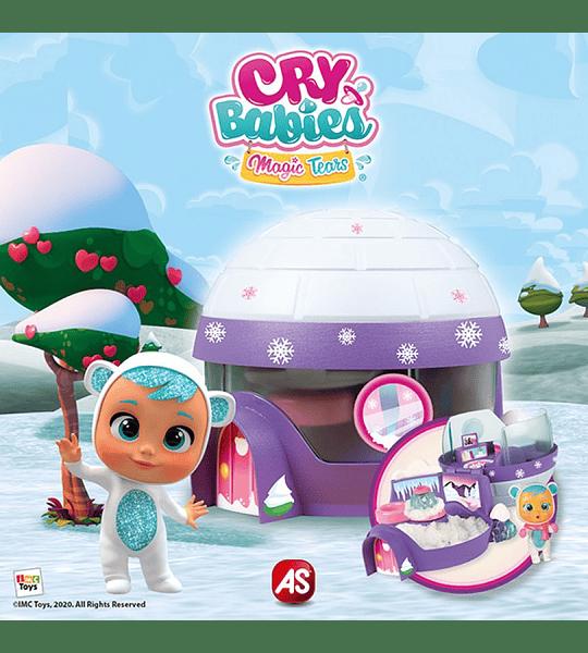 Iglú de Kristal exclusiva Muñeca lágrimas mágicas de Cry Babies