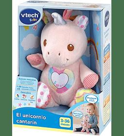 El Unicornio cantarín Suave Peluche Interactivo Vtech