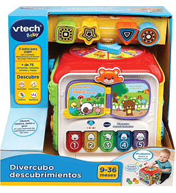 Divercubo descubrimientos, Cubo multiactividades Vtech