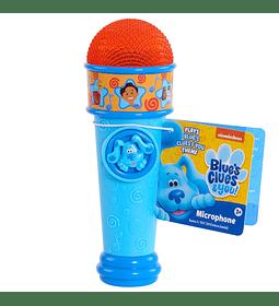 Micrófono Con Luz y Cancion de Blue's Clues & You!