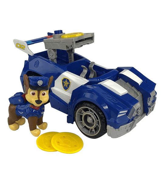 Chase Deluxe Vehiculo exclusivo The Movie la pelicula de Paw Patrol