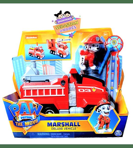 Marshall Deluxe Vehículo exclusivo The Movie la película de Paw Patrol