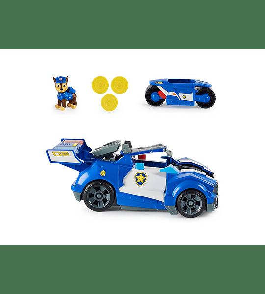 Chase Transforming City Cruiser Paw Patrol La Pelicula