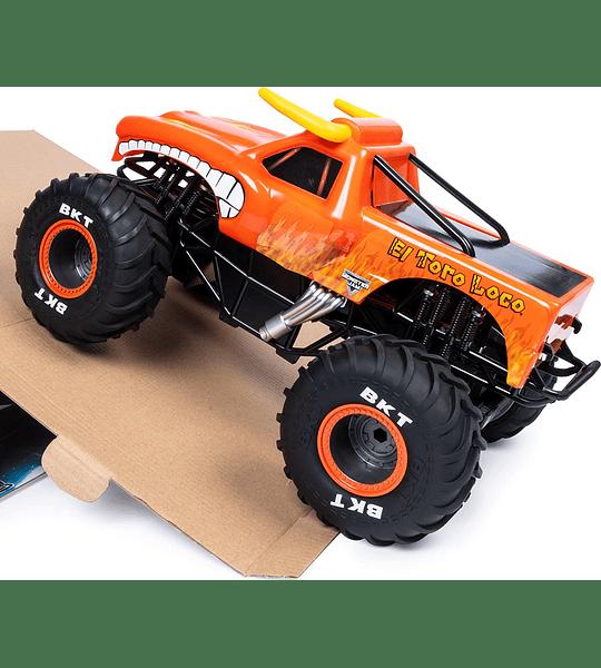 El Toro Loco Control Remoto Monster Truck escala 1:24, 2,4 GHz