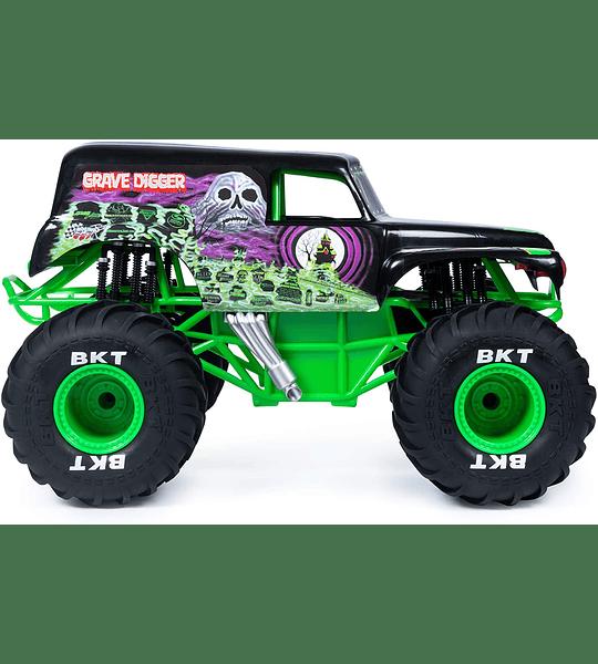 Grave Digger Control Remoto Monster Truck escala 1:24