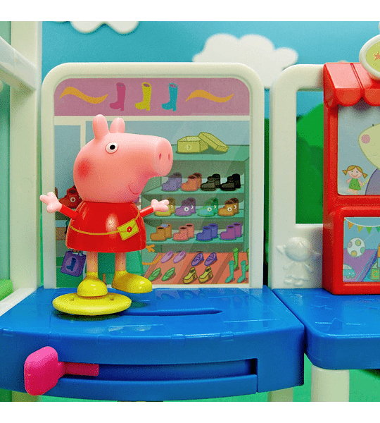 Centro Comercial Peppa Pig 10 Piesas