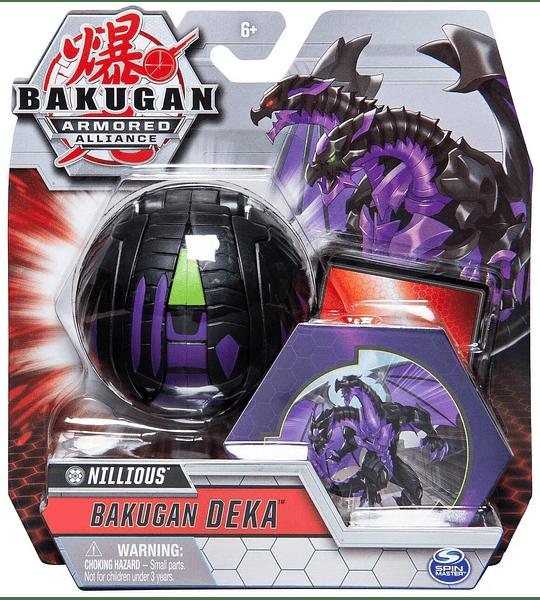 Nillious Bakugan Deka Armored Alliance (Importado Suckot) Spin Master