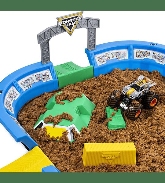 Max-D Monster Jam, Monster Dirt juego de Arena 1:64 escala