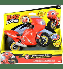 Motocicleta Ricky Zoom con luz y sonidos