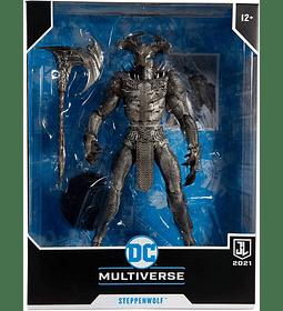 Steppenwolf McFarlane DC Fígura Articulada Liga de la Justicia
