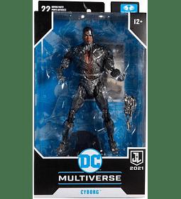 Cyborg Figura de acción McFarlane DC