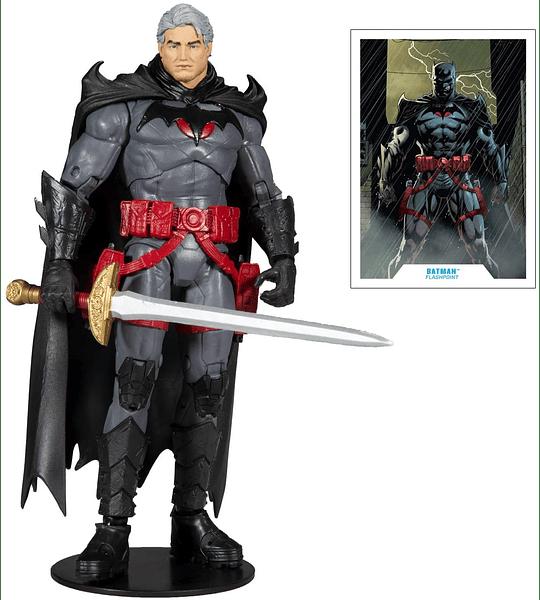 Thomas Wayne Flashpoint Batman Figura de acción McFarlane DC