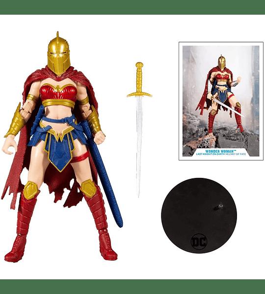 Wonder Woman with Helmet Figura de acción McFarlane DC