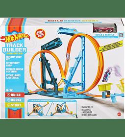 Hot Wheels Track Builder Unlimited Infinity Loop Kit