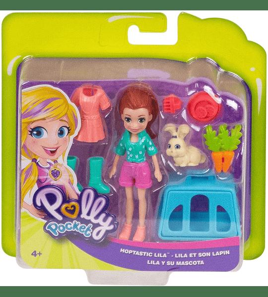 Lila y su Conejito Polly Pocket