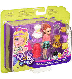 Polly Pocket Mochila con estilo Europeo