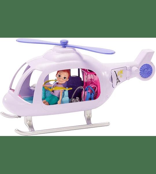 Helicóptero De Aventuras Polly Pocket