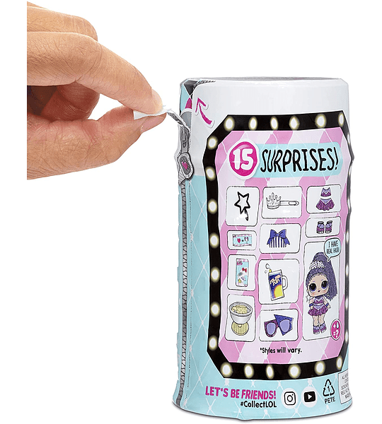 LOL Surprise Hairgoals Series 2 con 15 sorpresas