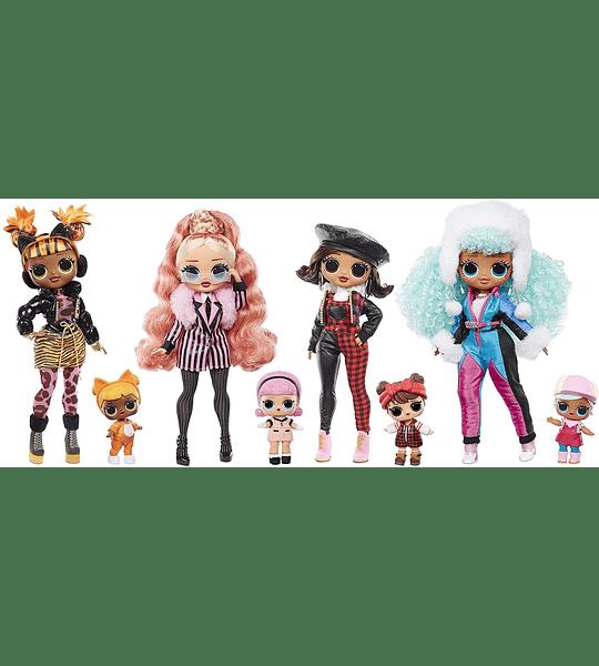 Icy Gurl e Brrr B.B Doll con 25 sorpresas  L.O.L. Surprise! O.M.G