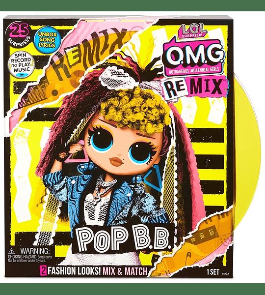 Pop B.B LOL Surprise OMG Remix 25 sorpresas