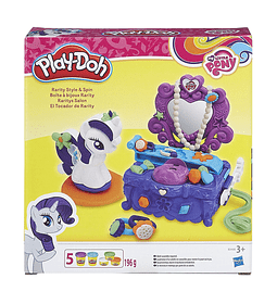 "Play-Doh Kit ""El Tocador de Rarity"""