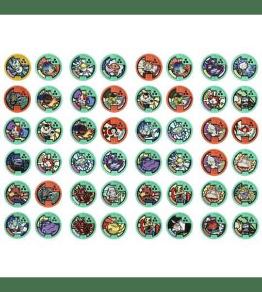 YOKAI - Bolsas Sorpresa con medallas para Reloj 3 medallas
