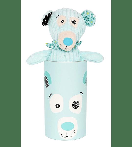 Peluche Simple oso polar, Les Déglingos