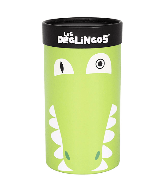 Peluche Simple Cocodrilo, Les Déglingos