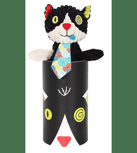 Peluche Simple gato, Les Déglingos
