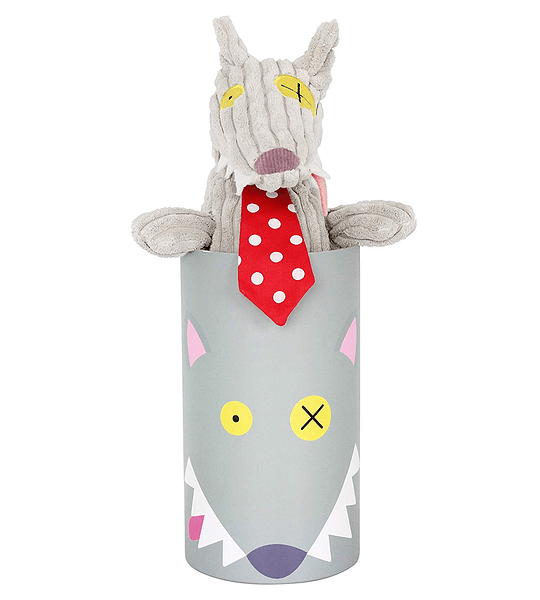 Peluche Simple lobo, Les Déglingos