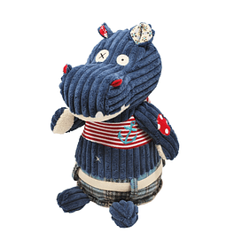 Peluche Original Hippipos el hipopótamo, Les Déglingos