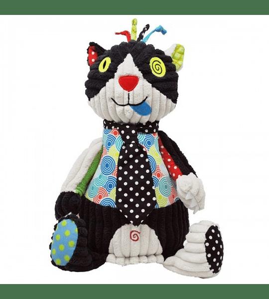 Peluche Original Charlos – Gato Les Déglingos