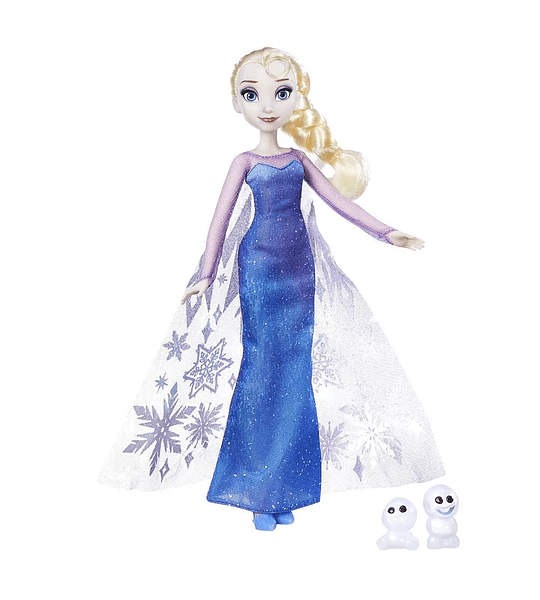 Elsa Luces del Norte Frozen