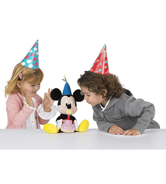 Mickey Happy Birthday, Original Colección de Lujo y modelo Exclusivo - IMC Toys