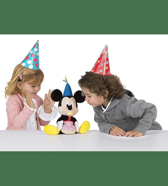 Mickey Happy Birthday, Original Colección de Lujo y modelo Exclusivo - IMC Toys