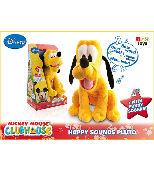 IMC Toys Disney - Happy Sounds Pluto
