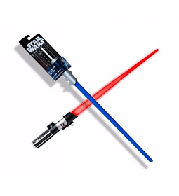Star Wars , EL sable es la arma de los Jedi y la siniestra Sith.