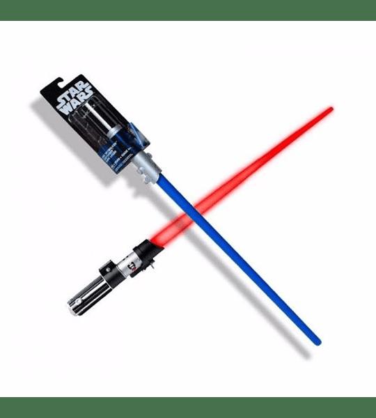 Star Wars EL sable es la arma de los Jedi y la siniestra Sith.