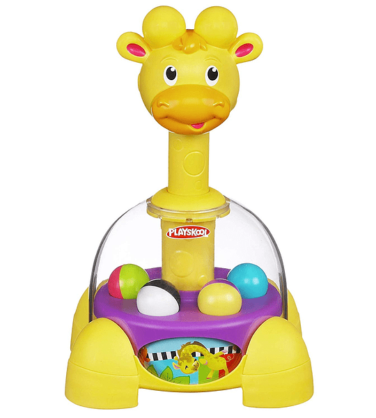 Playskool Poppin Parque Giraffalaff secadora Top