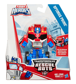 Transformers Heroes Rescue Bots Optimus Prime Figura de acción