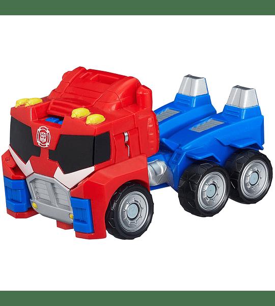Playskool Transformers Heroes Rescue Bots Optimus Prime Figura de acción