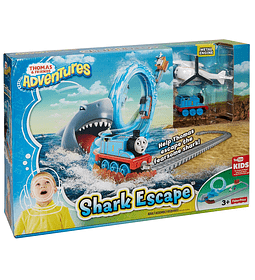 Thomas & Friends -Pista Circuito Thomas y el tiburon Fisher Price