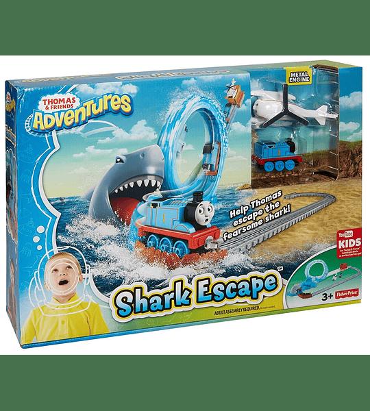 Thomas & Friends Pista Circuito Thomas y el tiburon Fisher Price
