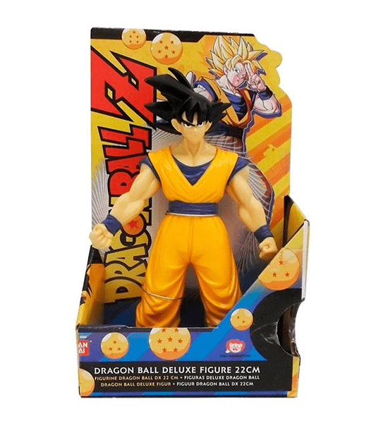 GOKU, FIGURA 23 CM DRAGON BALL Z - BANDAI
