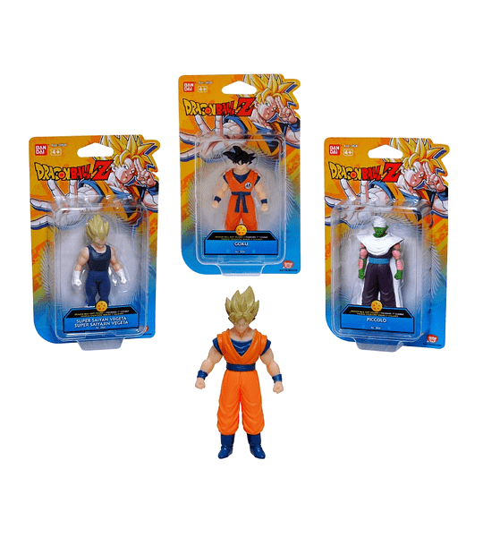 GOKU DRAGON BALL Z, BANDAI FIGURA 10 CM