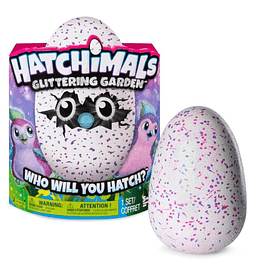 Hatchimals Glittering Garden Mascota Virtual