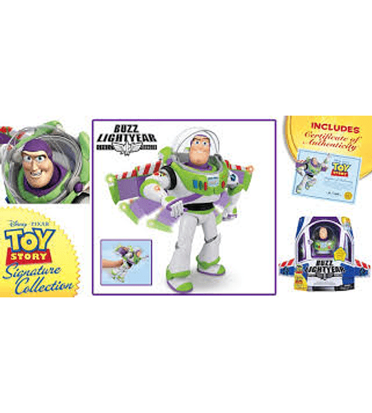 Buzz Lightyear - Space Ranger - Auténtico Toy Story