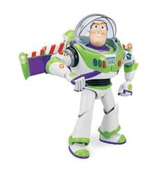 Buzz Lightyear - Space Ranger - Auténtico Toy Story