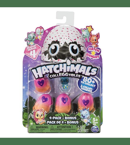 Hatchimals CollEGGtibles Edades 5 y más, Paquete de 4